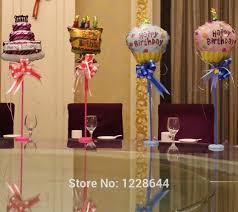 Balloon Diy Decorations Aliexpress Com Buy Happy Birthday Party Diy Decorations Table