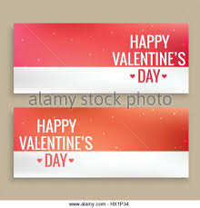 happy valentines day banner happy day banners stock photos happy day