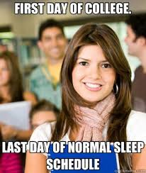 First Day Of College Meme - 10 back to college memes that are just perfect