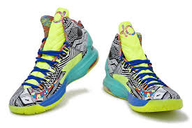 cheap kd 5 yellow blue green red grey 15240 globalfusion