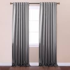 Tie Back Kitchen Curtains by Amazon Com Best Home Fashion Thermal Insulated Blackout Curtains