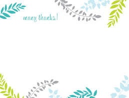 Thank You Card Designs Thank You Card Modern Images Of Thank You Card Template Free