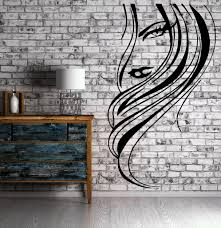 beautiful woman face sexy lips hair decor wall mural vinyl decal beautiful woman face sexy lips hair decor wall mural vinyl decal sticker m422