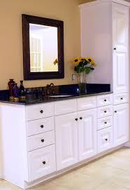bathroom cabinets glamorous modern bathroom high cabinet for