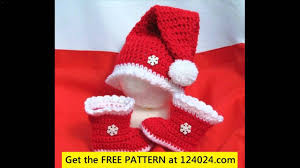 easy crochet christmas patterns youtube