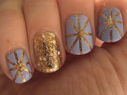 art club nail art gold glitter striping paint best images about