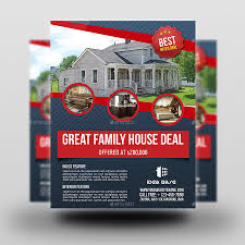 Best Real Estate Flyer Templates by Real Estate Flyer Templates For Photoshop Flyerheroes