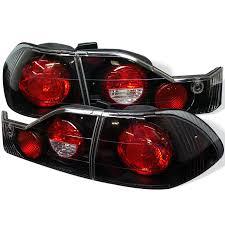 2009 honda accord brake light bulb 98 00 honda accord 4dr black euro tail lights 4pcs 111 ha98 bk by spyder