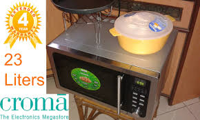 croma convection microwave grill oven 23 litres cram0144 review