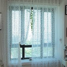 rideau pour fenetre chambre moderne rustique conception tulle tissu de rideau pour fenêtre