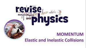 a level physics momentum elastic and inelastic collisions youtube