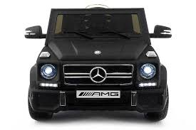 mercedes black car mercedes g65 amg children s ride on car parental remote dull