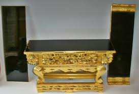 altar table for sale antique japanese buddhist gold lacquered altar table for sale