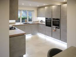 linear kitchen fusion linear kitchen with concrete english interiors