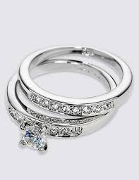 rings platinum images Platinum plated diamant rings m s collection m s