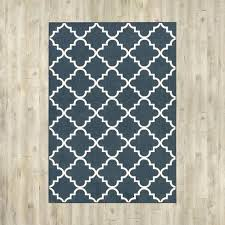 Blue And White Area Rugs Navy Blue And White Area Rug Euprera2009