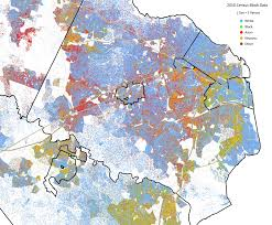 Maps Virginia by More Dot Density Maps Statchat