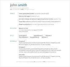 libreoffice resume template free resume templates libreoffice this printable template has