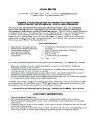 Resume Format Sales And Marketing Resume Samples For Marketing Jobs U2013 Topshoppingnetwork Com