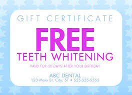 4 brilliant dental gift card marketing postcard examples