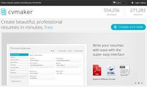 Create Online Resume Website by 10 Free Online Tools To Create Professional Resumes Hongkiat