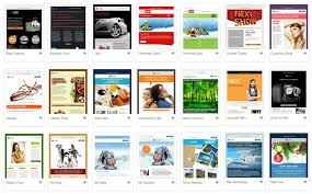 email newsletter templates easy to use easy to impress