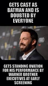 Excited Meme - excited for batman v superman wb said batfleck is the definitive