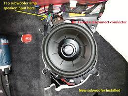 diy speaker and subwoofer upgrade harman kardon based system