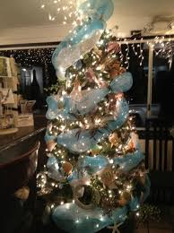 themed christmas tree nautical themed christmas tree at the seaside restaurant picture