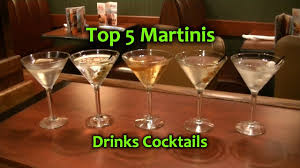 martini pickle top 5 martinis best martini cocktails top drinks youtube