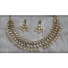 pearls necklace sets images Kundan pearl necklace set at rs 550 piece kundan necklace sets jpg