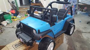 jeep power wheels for girls repainted a jeep power wheels for my son for christmas had to
