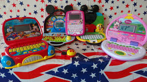 5 disney mickey mouse minnie mouse toy laptops