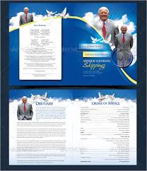 funeral program covers obituary template 13 free word excel pdf psd format