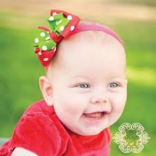 baby bow boutique candy baby bow baby headband baby christmas bow by kinleykate