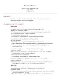 Sample Resume For Employment by 30 Basic Resume Templates