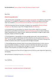 legal demand letter template letter of claim template copyright infringement