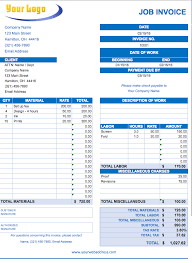 Invoice Templates For Excel Free Excel Invoice Templates Smartsheet
