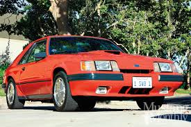 1985 mustang svo 1985 ford mustang svo mustang monthly magazine