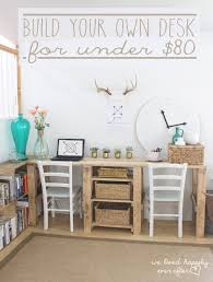 customize your own desk diy desk designs you can customize to suit your style