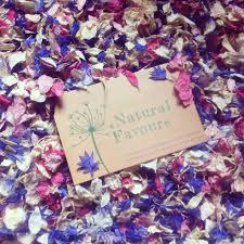 Real Flower Petal Confetti - individual real flower petal confetti packet