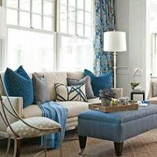 Blue Color Living Room Designs - interior color schemes yellow green spring decorating living