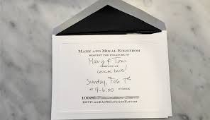 Formal Invitations Fill In Formal Invitations Are Always En Vogue As We Live U0026 Eat