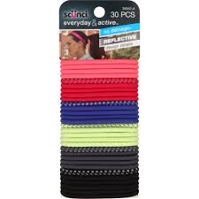 scunci hair scunci everyday active hair ties colors 30 ct walmart