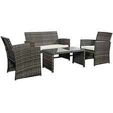 amazon com patio furniture set clearance dining set 4 piece