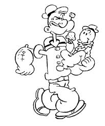 innovative cartoon characters coloring pages 5116 unknown