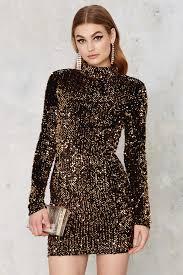 dress gal gal mirage sequin mini dress in black lyst