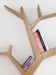Stylish Bookshelf Simple And Stylish Tree Branch Bookshelf Made Of Wood Home