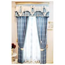 Gingham Curtains Blue Blue Gingham Curtains