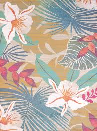 Area Rugs Tropical United Weavers Regional Concepts 541 50589 Flower Jungle Tropical